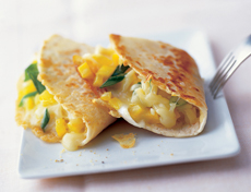 Raclette-Quesadillas